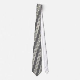 shabby elegance floral spring paris eiffel tower tie