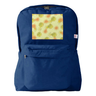 shabby floral 1 (I) American Apparel™ Backpack