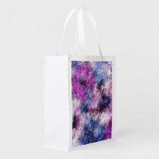shabby floral 2 (I) Reusable Grocery Bag