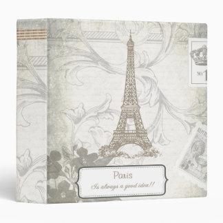 Shabby: Paris is Always a Good Idea 3 Ring Binder