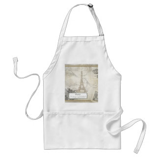 Shabby:  Paris is Always a Good Idea! Adult Apron