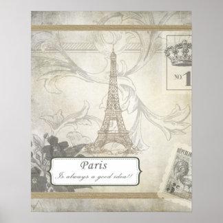 Shabby:  Paris is Always a Good Idea Poster