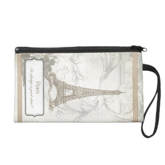 Shabby: Paris is Always a Good Idea Wristlet
