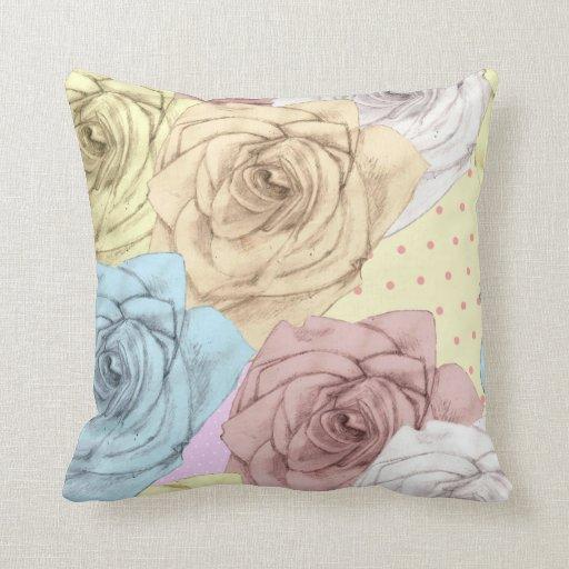 Shabby Rose Pillows