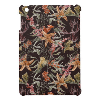 Shabby Sea Life Pattern Case For The iPad Mini