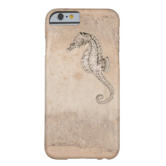 Shabby Seahorse Design Barely There iPhone 6 Case