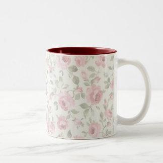 Shabby Sweet Petite Pink Roses Mug