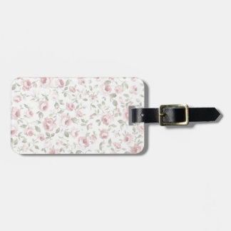 Shabby Sweet Petite Rose Luggage Tag