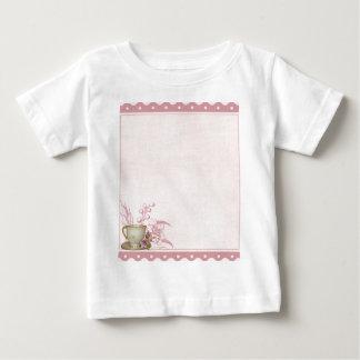 Shabby Tea Party Baby T-Shirt