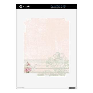 Shabby Tea Party Skin For iPad 2