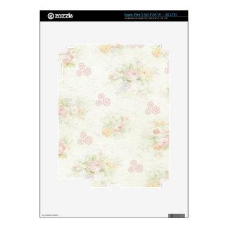 Shabby Tea Party Skin For iPad 3