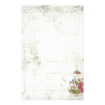 Shabby Tea Party Stationery