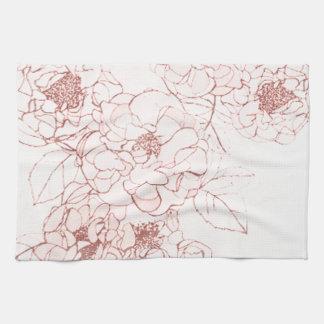 Shabby Tiffany Kitchen Towel