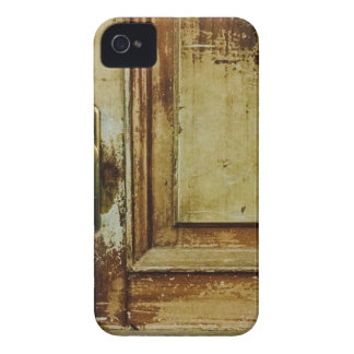 Shabby Vintage Wood door SIRAdesign iPhone 4 Cover