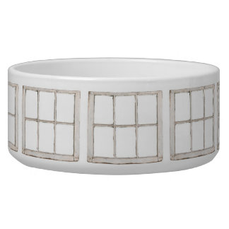 Shabby window pane bowl