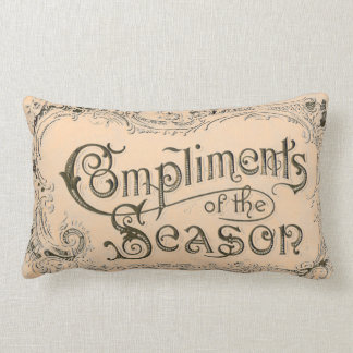 SHABBYCHIC vintage xmas decorations Throw Pillows