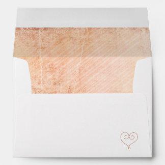 Shabbychic Wedding Envelope