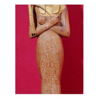 Shabti figure of king from Tomb of Tutankhamun Postcard