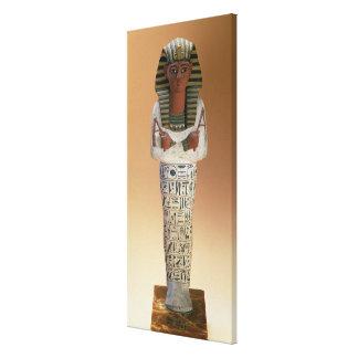 Shabti figure of Ramesses IV, New Kingdom (stuccoe Gallery Wrapped Canvas