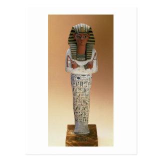 Shabti figure of Ramesses IV, New Kingdom (stuccoe Postcard