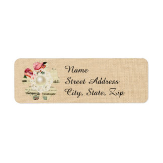 Shaby Chic Mailing Labe Label