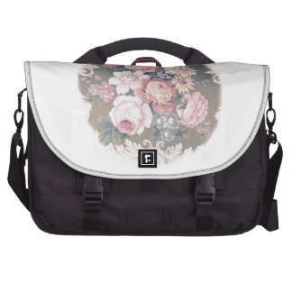 Shaby Vintage of flower SIRAdesign Commuter Bags