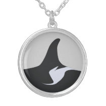 Shachi J19's Saddle Patch Silver Plated Necklace