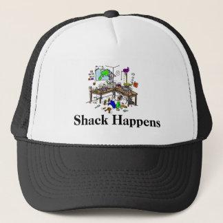 Shack Happens  Funny Ham Radio  Cap
