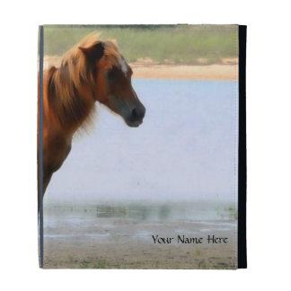 Shackleford Banks Horse iPad Case