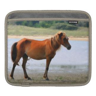 Shackleford Banks Horse ipad Sleeve