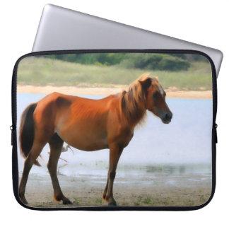 Shackleford Banks Horse Laptop Sleeve