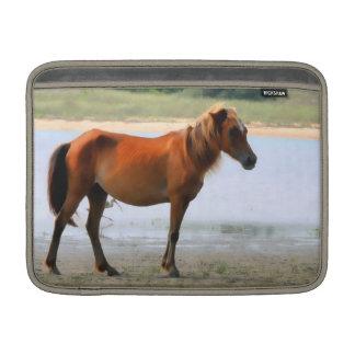 Shackleford Banks Horse  MacBook Air Sleeve