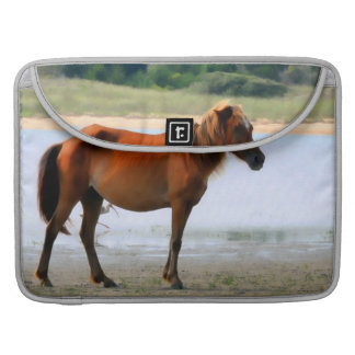 Shackleford Banks Horse MacBook Pro Sleeve