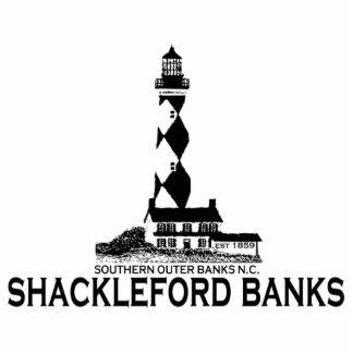 Shackleford Banks. Acrylic Cut Out