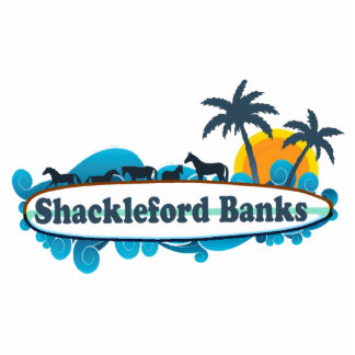 Shackleford Banks. Acrylic Cut Outs