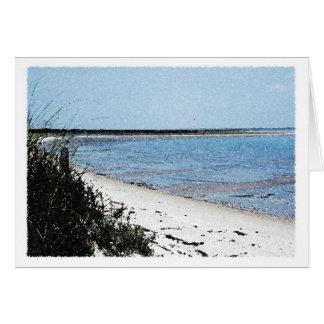 Shackleford Island Card