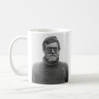 "Shackleton mug - picture and ""Difficulties"" quote"