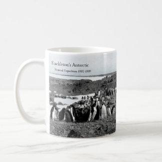 Shackleton's Nimrod Gramophone Music for Penguins Coffee Mug