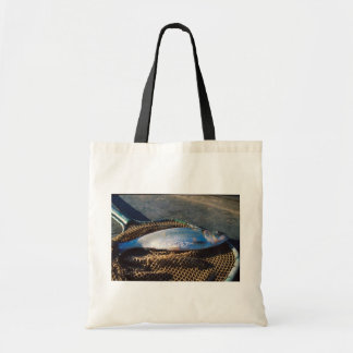 Shad In Net Tote Bags