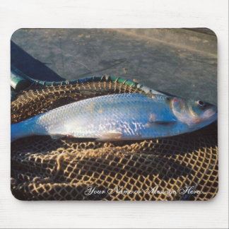 Shad In Net Mouse Pad