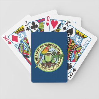 Shade Grown Coffee Bicycle Playing Cards