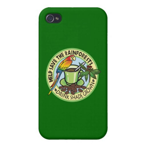 Shade Grown Coffee Cases For iPhone 4
