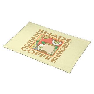Shade Grown Coffee Cloth Place Mat