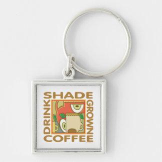 Shade Grown Coffee Keychains