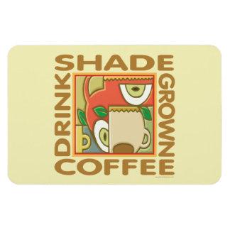 Shade Grown Coffee Rectangular Photo Magnet