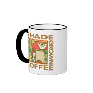 Shade Grown Coffee Ringer Coffee Mug
