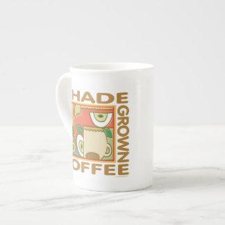 Shade Grown Coffee Bone China Mugs