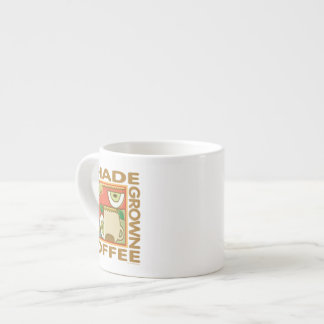 Shade Grown Coffee Espresso Mugs