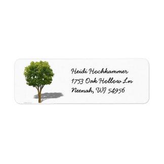 Shade Tree Label