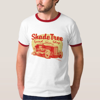 Shade Tree Speed Shop red T-shirts